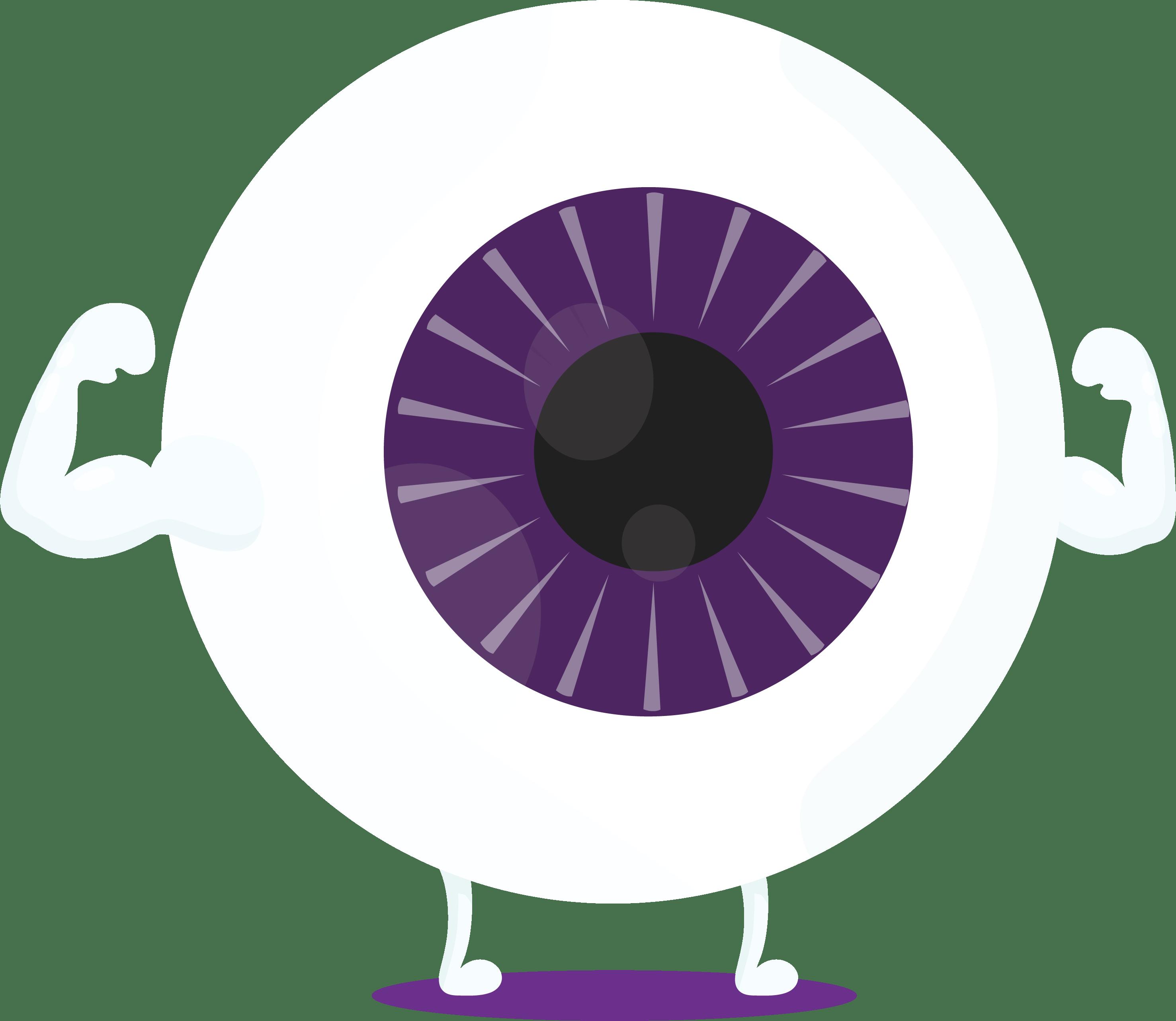 Total Optical - Eye icon purple